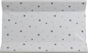 Schardt 13 603 679 Keilwickelauflage Sternchen, 50 x 80 cm, grau