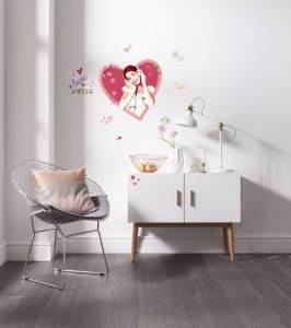 Komar Deco-Sticker Violetta
