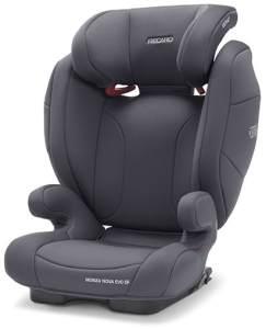Recaro 'Monza Nova Evo Seatfix' Autokindersitz Simply Grey, 15 bis 36 kg (Gruppe 2/3)