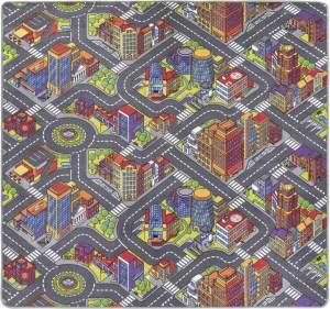 Misento 'Big City' Kinderteppich 200x200 cm