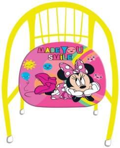 Kinderstuhl Minnie Mouse Mädchen 36 cm Stahl gelb/rosa