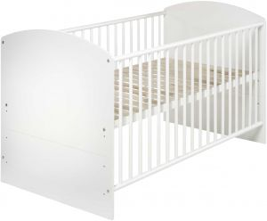 Schardt 'Classic White' Kombi-Kinderbett 70x140 cm weiß
