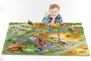 Spielteppich - Building City Connect/Grip 100x150cm