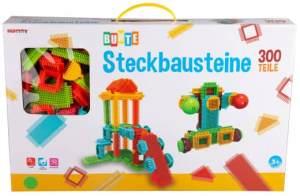 Besttoy - Bunte Steckbausteine - 300 Teile
