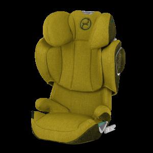 CYBEX Platinum 'SOLUTION Z I-FIX PLUS' Autokindersitz 2021 Mustard Yellow, 15 bis 36 kg (Gruppe 2/3)