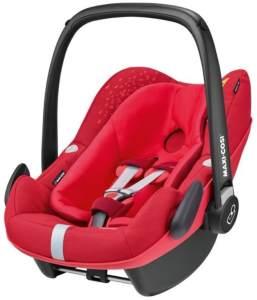 Maxi-Cosi 'Pebble Plus i-Size' Babyschale 2018 Vivid Red von 45-75 cm (Gruppe 0+) Isofix