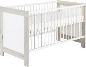 Schardt 'Nordic Haliax' Kombi-Kinderbett weiß