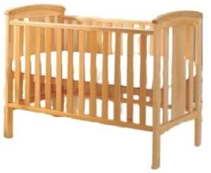 Kinderbett Katie junior Holz braun 126,5 cm