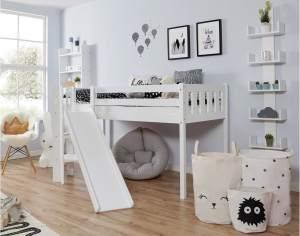 Ticaa 'Ekki' Podestbett Vertikal Buche Weiß