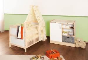 Pinolino 'Florian' 2-tlg. Babyzimmer-Set beige/weiß