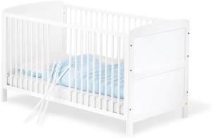 Pinolino 'Viktoria' Kombi-Kinderbett weiß, 70 x 140 cm, umbaubar