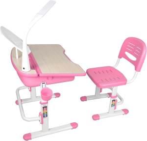 Vipack 'Comfortline' Kinderschreibtisch 301 rosa/weiß, inkl. Stuhl