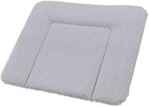 Rotho Babydesign Wickelauflage mit Steppoptik, Royal, Ab 0 Monate, 85x72x7cm, Perlsilber, 204430168CI