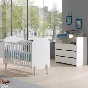 Vipack 'Kiddy' 2-tlg. Babyzimmer-Set 60x120