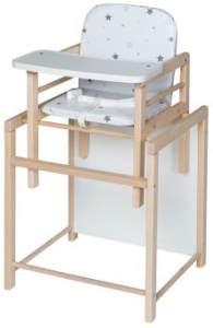 schardt 'Sternchen' Holz Kombi-Hochstuhl X-TRA II