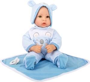 Babypuppe Lukas, mit viel Zubehör, 40 cm, von Legler