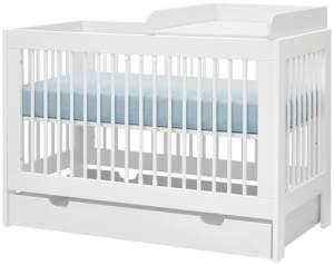 PINIO Basic Wickelaufsatz für Babybett 60 x 120 cm