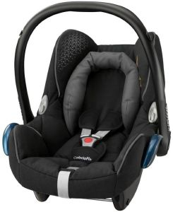 Maxi Cosi 'Cabrio Fix' Babyschale Origami black, Gruppe 0+