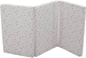 Fillikid 'Exclusiv Sterne' Reisebettmatratze 60 x 120 cm grau/weiß