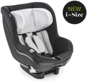 Hauck iPro Kids i-Size Reboard Kindersitz ab Geburt bis 18 kg, mitwachsender Baby Autositz, entgegen der Fahrtrichtung, mit Neugeborenen Einlage, kompatibel mit Isofix Basis, silber
