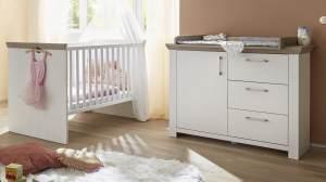 Mäusbacher 'NEW YORK' 2-tlg. Babyzimmer-Set anderson pine/nelson eiche
