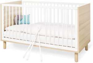 Pinolino 'Flow' Kinderbett weiß/natur