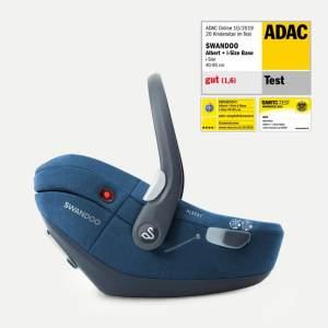 Swandoo Babyschale Albert i-Size 2020 Blueberry 0-13 kg (Gruppe 0+)