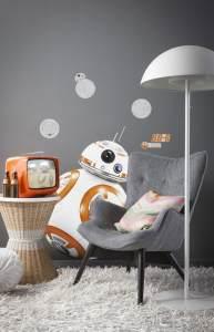 Komar Deco-Sticker Star Wars BB-8