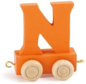 Buchstabenzug bunt N