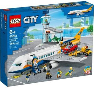 LEGO City Flughafen - Passagierflugzeug 60262