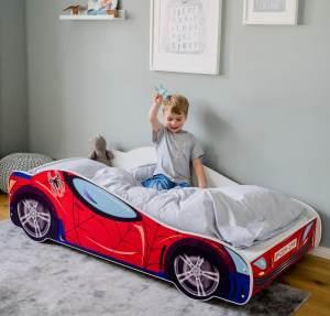 Kids Collective 'Spider' Autobett 70x140 mit Lattenrost