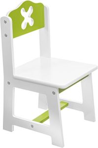 Bieco Kinderstuhl weiß/grün