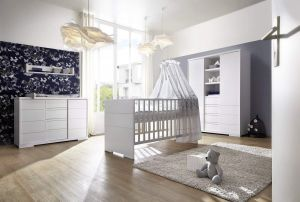 Schardt 'Maxx White' 3-tlg. Babyzimmer-Set