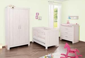 Pinolino 'Pepper' 3-tlg. Babyzimmer-Set beige