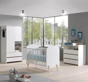 Vipack 'Kiddy' 3-tlg. Babyzimmer-Set