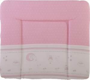Roba 'Glücksengel' Wickelauflage 75 x 85 cm rosa/weiß