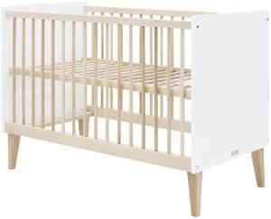 Bopita Indy Babybett 60 x 120 cm inkl. Lattenrost höhenverstellbar
