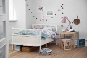 Sebra 'Junior & Grow' Kinderbett, 90x160/200cm, Weiß