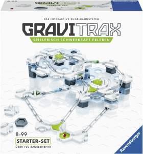 Ravensburger GraviTrax Starterset - Erweiterbare Kugelbahn für Kinder, Interaktive Murmelbahn, Lernspielzeug und Konstruktionsspielzeug ab 8 Jahren