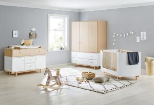 Pinolino 'Boks' 3-tlg. Kinderzimmer-Set extrabreit, groß