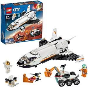 LEGO City 60226 'Mars-Forschungsshuttle', 273 Teile, ab 5 Jahren, inkl. zwei Astronauten-Minifiguren