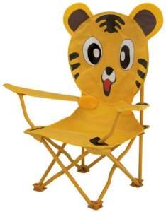 Stuhl Tijger60 x 26 cm Polyester/Stahl Junior gelb