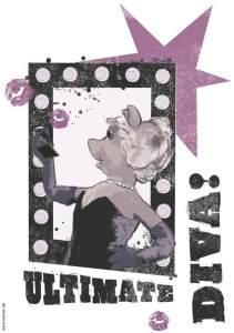 Komar Deco-Sticker Ultimate Diva