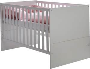 Arthur Berndt 'Amal' Kinderbett 70 x 140 cm inkl. Lattenrost 4-fach höhenverstellbar Kreideweiß
