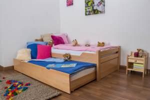 Kinderbett Easy Premium Line K1/h Voll inkl. 2. Liegeplatz und 2 Abdeckblenden