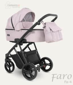 Camarelo Faro Kombikinderwagen 2in1 rosé