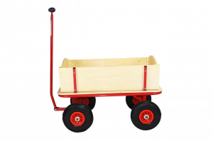 Beachtrekker 'Style' Holzbollerwagen Natur