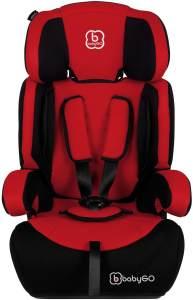BabyGO 'Motion' Autositz in Rot, 9 bis 36 kg (Gruppe 1/2/3)