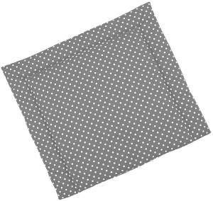 Sugarapple Wickelauflage grau, Punkte