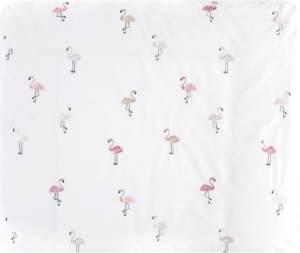 Alvi Wickelauflage+Bezug Set Flamingo 70x85 cm